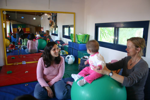 פיזיותרפיה לתינוקות
